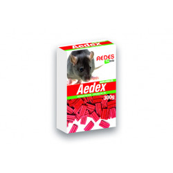 AEDEX Bloc - boîte de 12 pâtes raticides anti rongeur