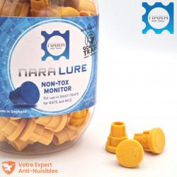 Appât NARA® Lure pour rongeurs (rat, souris), arôme mangue (lot de 100)