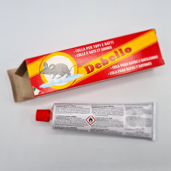 "Tube de colle ""Debello"" anti rat, souris, mulot."