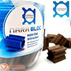 Pot de 20 blocs Nara® arôme chocolat noisette