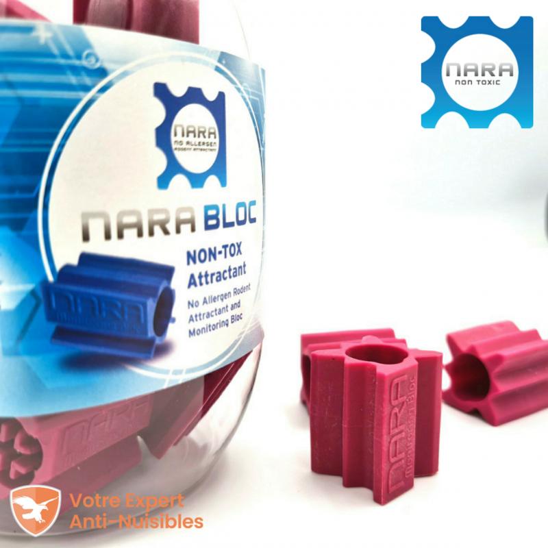 Pot de 20 blocs Nara® arôme viande