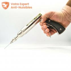 Le pistolet Accuthor permet une excellente prise en main, pour une application précise et sans bavure