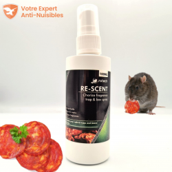 Rotech Re-Scent®, attractif pour rat, arôme chorizo.