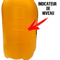 Indicateur de niveau pour le dosage du pulvérisateur 5 L