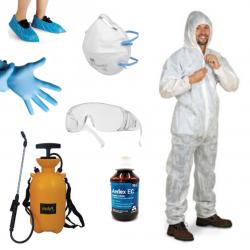 """Articles composants le Kit complet traitement """"Insecticide & Équipement"""""""