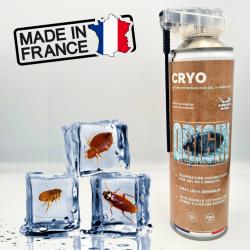 Bombe froid paralysante anti insecte CRYO ORIGIN