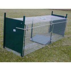 Cage 2 entrées pour capture vivante : rat, chat, renard, fouine.